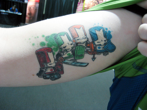 A hardcore Castle Crashers fan!