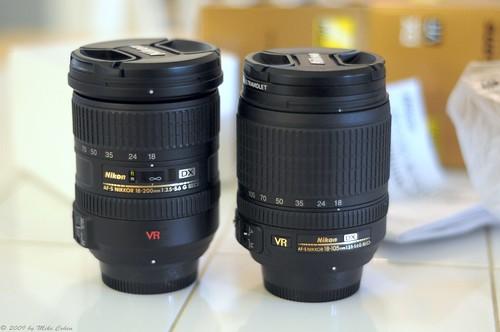 18-200mm Vs. 18-105mm