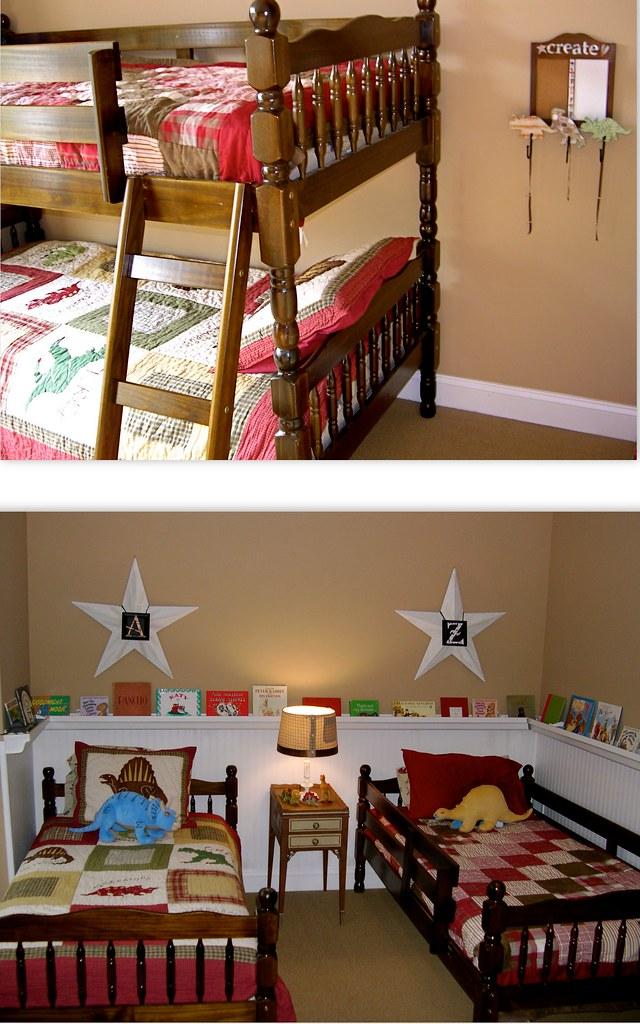 Rain Gutter Bookshelves Amp Beadboard Wallpaper Home