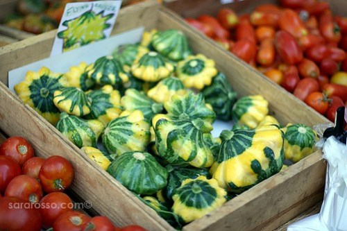 Flying Saucer squash, San Francisco Ferry Building Marketplace
