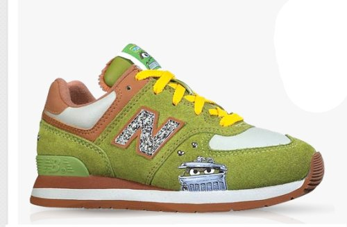New Balance x Oscar the Grouch