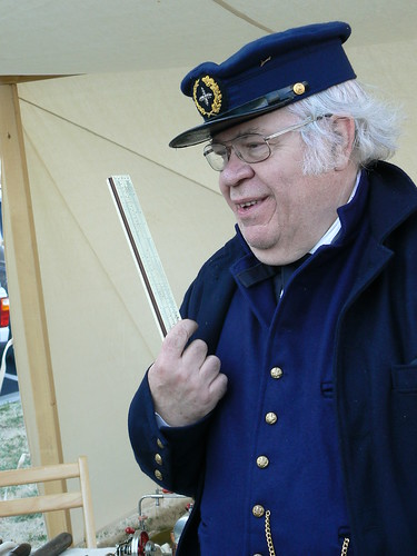 Living History Day - Al Mitchell Discusses the Sliderule