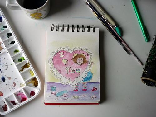 Valentine front