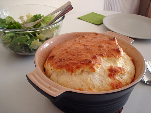 Soufflé and Salad