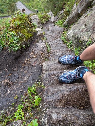Narrow steps!