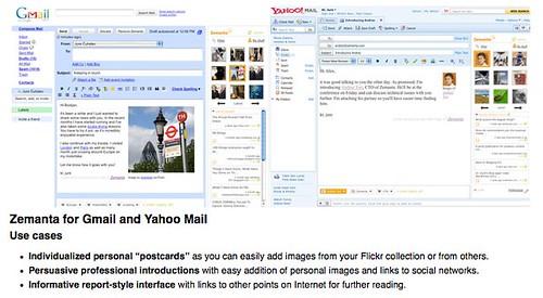 Zemanta for Gmail and Yahoo Mail | Zemanta Ltd. by you.