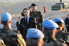 Sarkozy in Southern Lebanon, 1