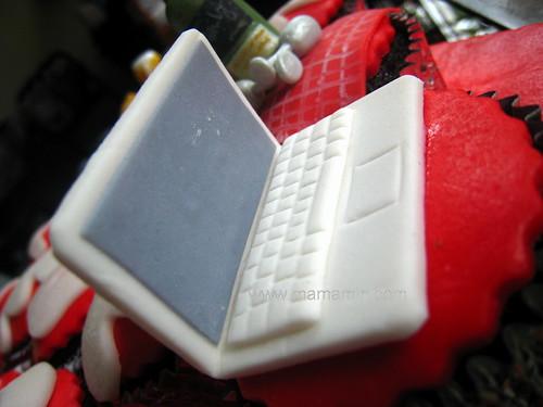 Cupcake - laptop