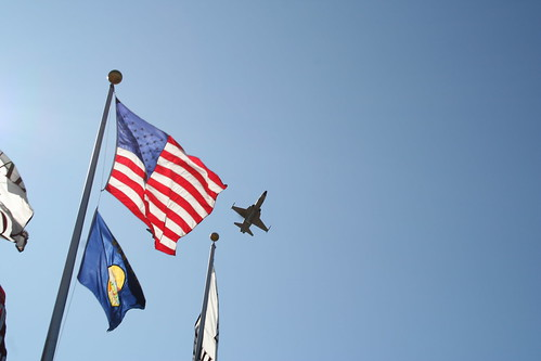 Patriotic Fly Over