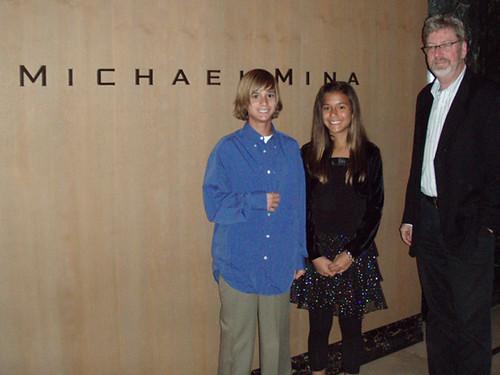 Chace, Kindal, Peter after dinner at Michael Mina, MyLastBite.com
