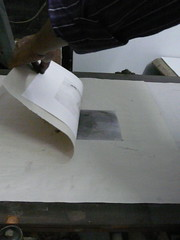 Drypoint - on the press FP
