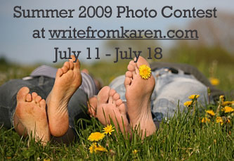 Photo Contest at writefromkaren.com