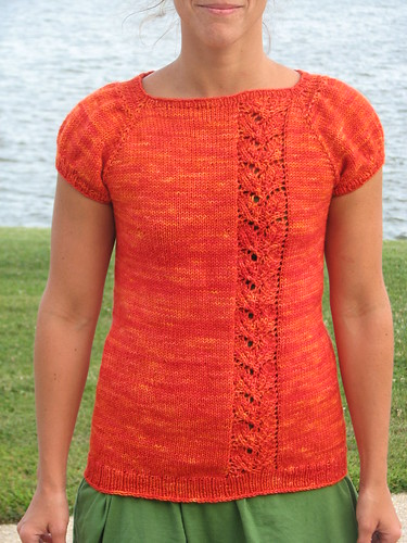 Our Rusted Roots, in Madtosh Worsted, Tomato Colorway