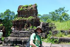 A the My Son ruins outside Hoi An