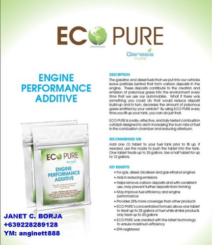 GENESIS ECO PURE by you.