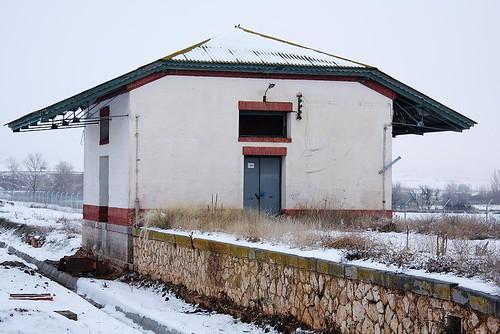 Estación - Antiguo depósito de mercancias