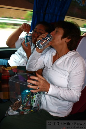 Beers on the bus, at 6.30am???