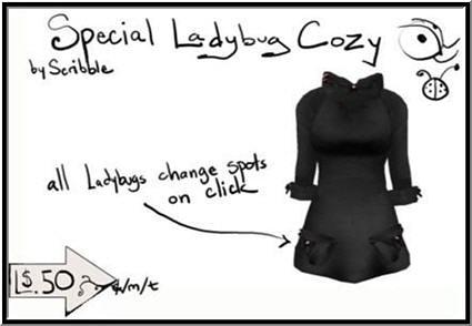 Scribble - 50L Week 10 - Special Ladybug Cozy