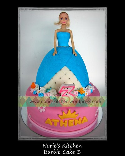 Norie's Kitchen - Barbie Doll Cake 3