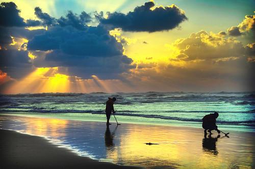 Searching for Water by Ronen Goldman, Gordon Beach, Tel Aviv