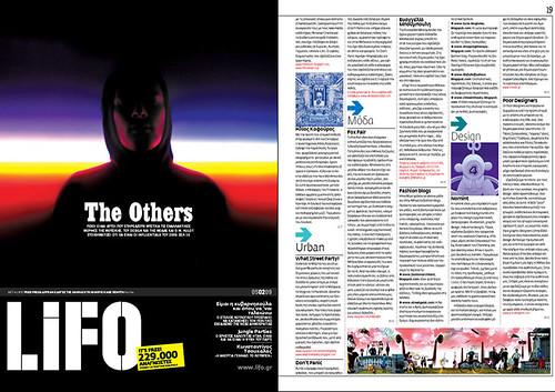 LiFO  (GR) Feb 09 Streetgeist Feature
