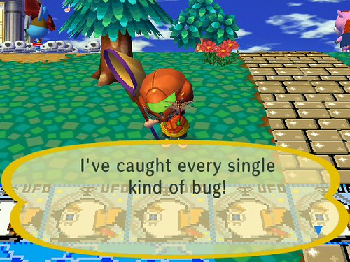 I caught all the bugs!