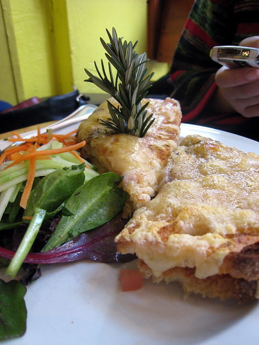Croque Monsieur at Café Henri