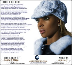 Mary J Blige - Forever No More (back cover)