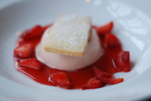 Strawberry Pannacotta