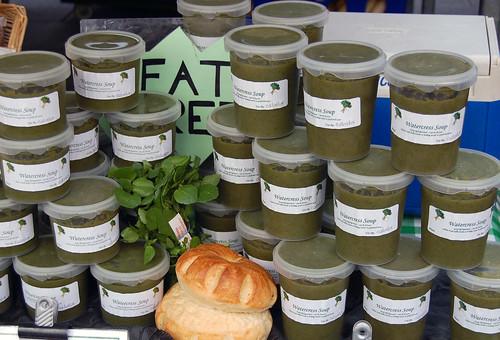 Hampshire watercress soup