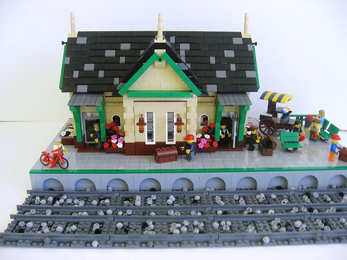 LEGO Train Station