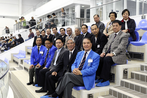 47HKM04港澳代表隊負責人攝於嘉賓席上