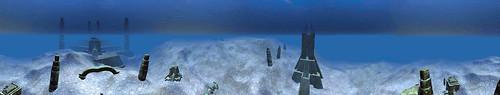 Underwater Xenn Ruins
