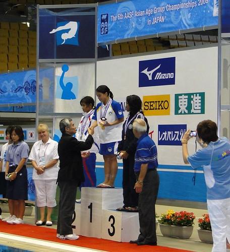 809 徐雪茵在女子公開組三米板獲得金牌