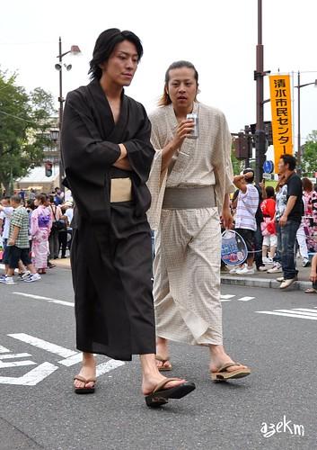 Men in yukata
