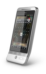 HTC Hero - Absolute White 01