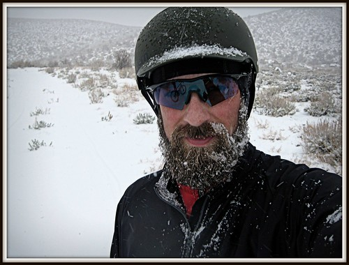 Snowy Self Portrait