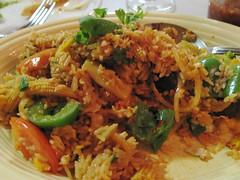 Veggie Stir-Fried Rice