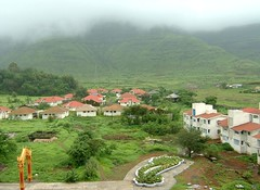 Village panoramic view