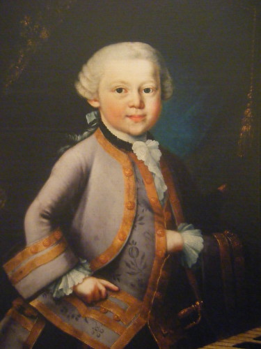 1763 - Young Mozart in Gala Costume