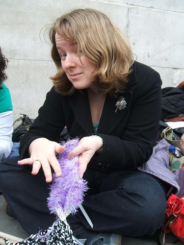 Startitis street knitting