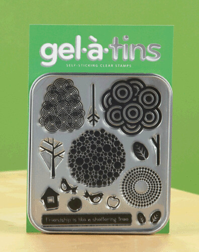 Gel-a-tins Sheltering Tree set
