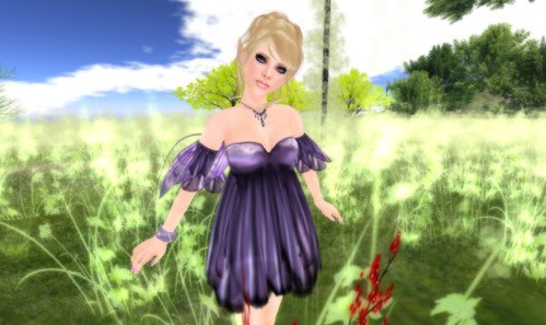 *Evie's Closet* RFL Aventine Flower Skirt