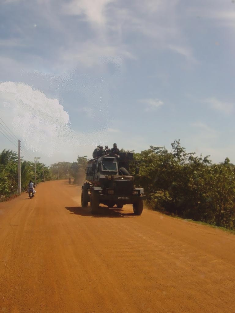 The armoured patrol