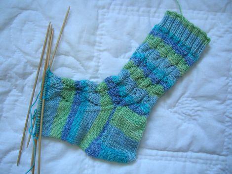 River Rapid Socks in progress