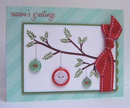 Finalist 2: Lizzie Jones' Christmas in July Card