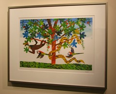 eric carle art exhibit at the stanford in wash...