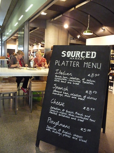 Sourced Market @St Pancras by you.