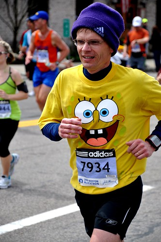 Spongebob [Boston Marathon 2009]