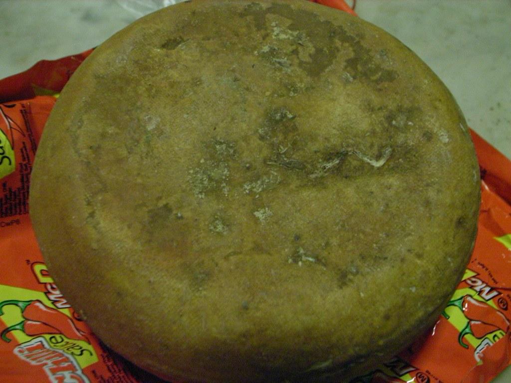 One year old Himalayan gouda cheese